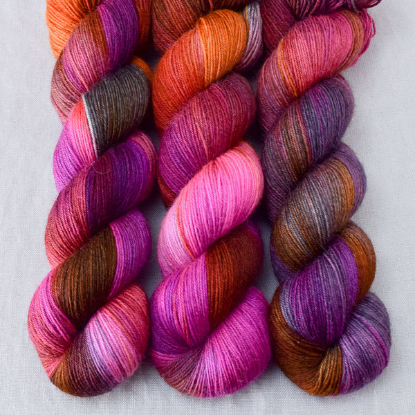 Deep Sea Jellyfish - Miss Babs Northumbria Fingering yarn