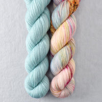 Deer Moss, Spring Flowers - Miss Babs 2-Ply Duo