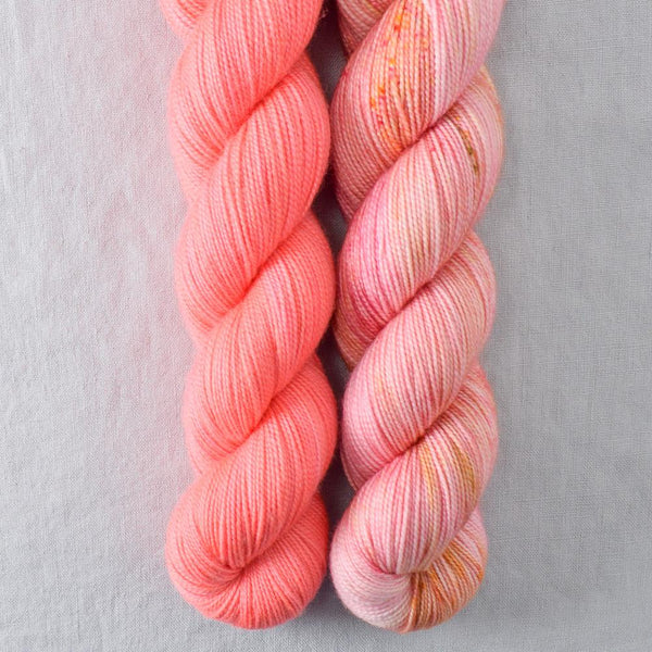 Devoted Idea, Pink Grapefruit - Miss Babs 2-Ply Duo