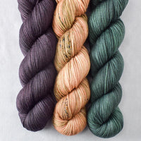 Dunk, Lurch, Rosy Finch - Miss Babs Yummy 3-Ply Trio