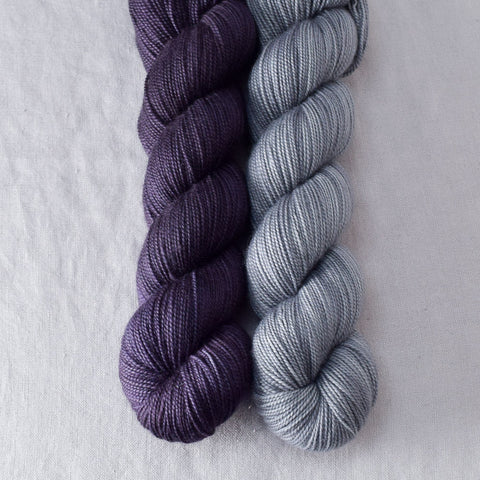 Dusk, Slate - Miss Babs 2-Ply Duo