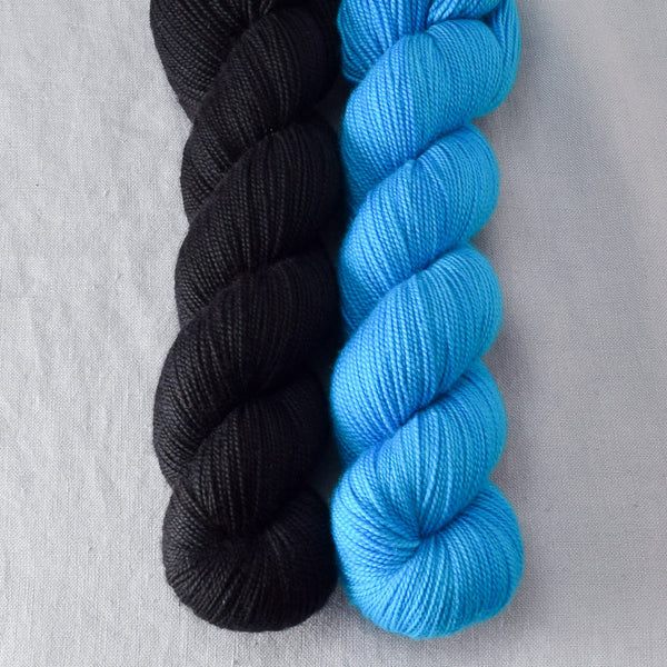 Ebony, Marine - Miss Babs 2-Ply Duo
