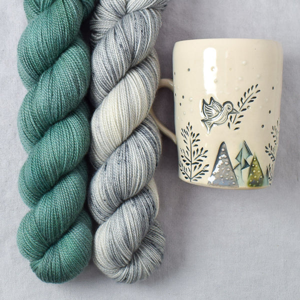 Olives in November Mug Collection - Dove of Peace and Olive Branch