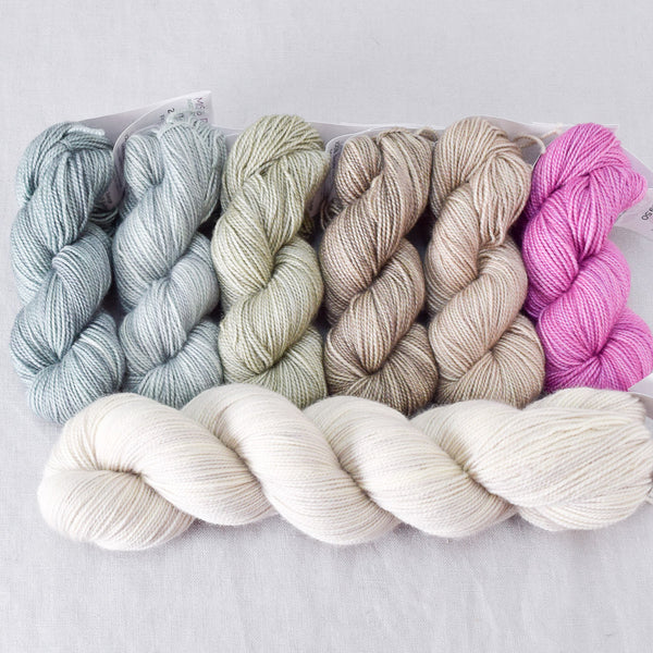 Eucalyptus and White Peppercorn - Miss Babs Gradient Set