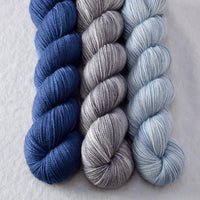 Faded, Luna Granite, Navy - Miss Babs Yummy Trio