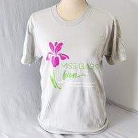 Miss Babs Fan Shirt - Dove Gray
