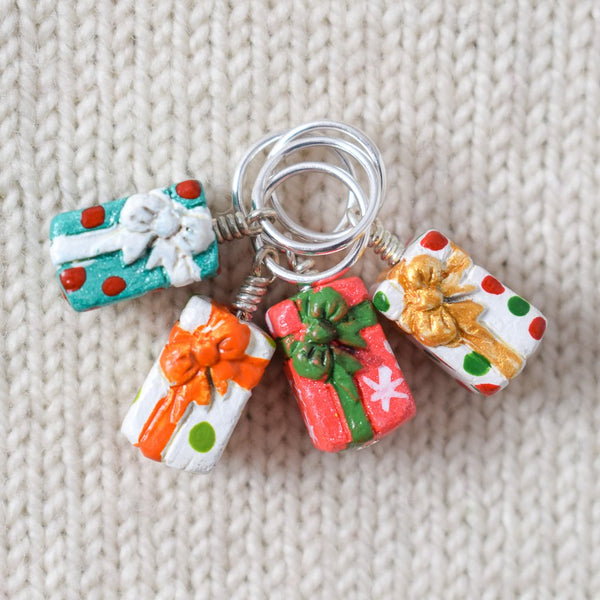Festive Gift - Miss Babs Stitch Markers