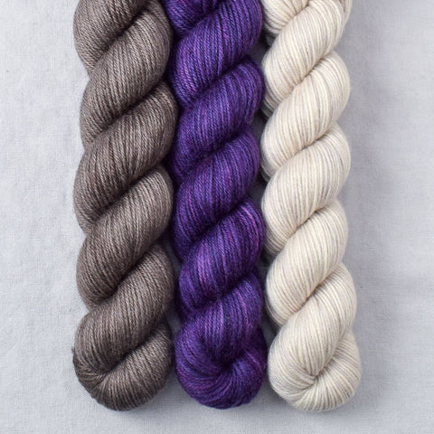 Field Mouse, Lilacs, White Peppercorn - Miss Babs Yowza Mini Trio