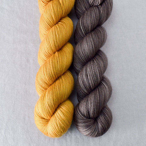 Field Mouse, Turmeric - Miss Babs 2-Ply Duo