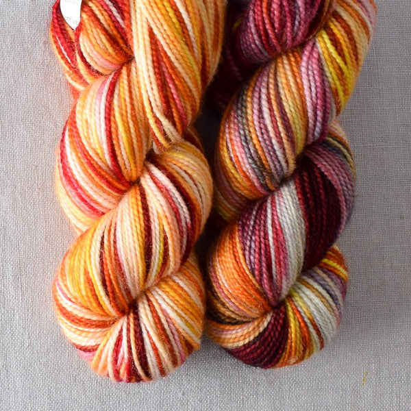 Fire Ball - Miss Babs 2-Ply Toes yarn