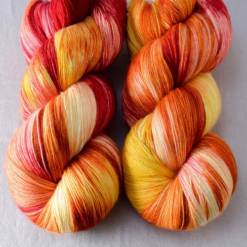Fire Ball - Miss Babs Katahdin yarn
