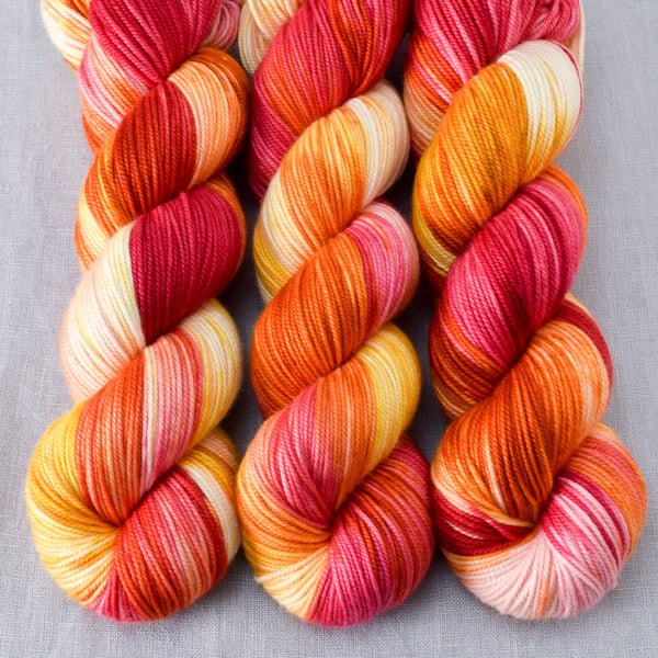 Fire Ball - Miss Babs Kunlun yarn