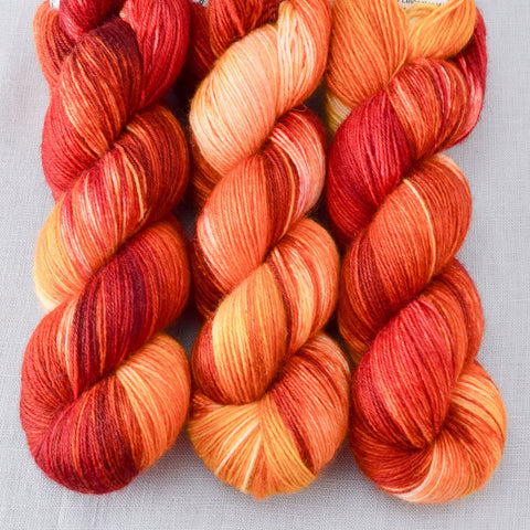 Fire Ball - Miss Babs Northumbria Fingering Yarn