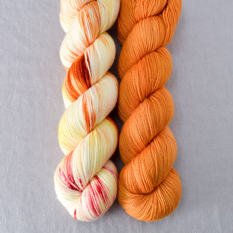 Fire Ball, Saffron - Miss Babs 2-Ply Duo