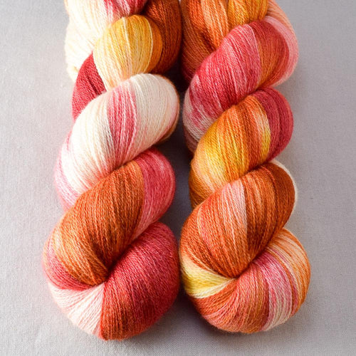Fire Ball - Miss Babs Yearning yarn