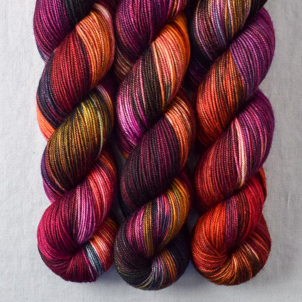 Fired Up - Miss Babs Yummy 3-Ply yarn