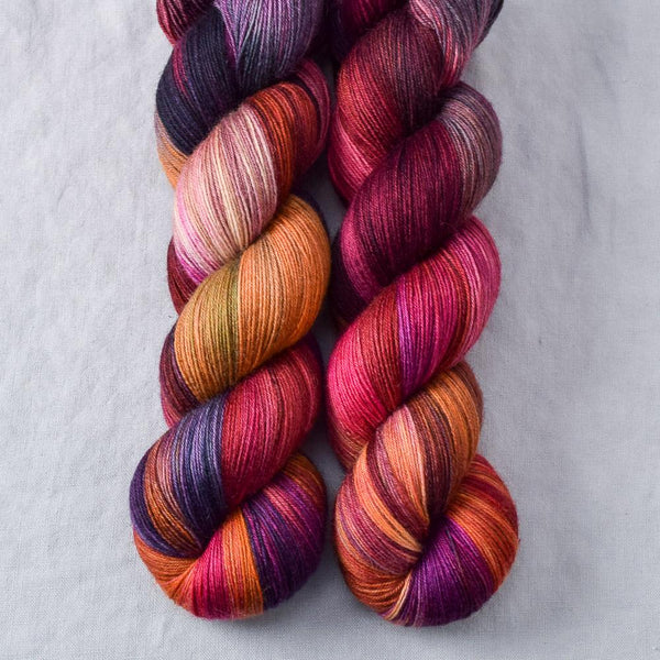 Fired Up Partial Skeins - Miss Babs Katahdin yarn