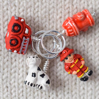 Fire House - Miss Babs Stitch Markers