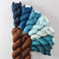 Forest Butterfly - Miss Babs Garden Variety Set yarn