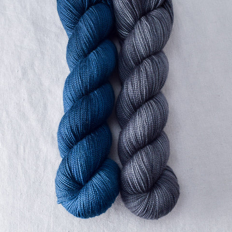 Franklin, Pewter - Miss Babs 2-Ply Duo