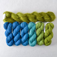 Fronds Gradient and Raizome Moonglow - Miss Babs Autumn Mist Set