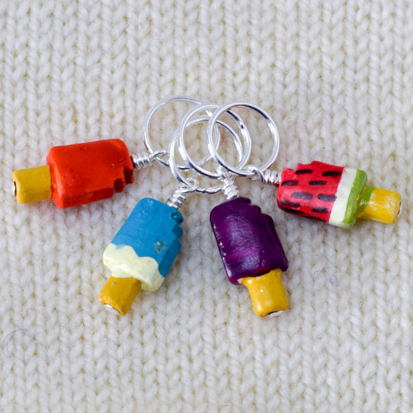 Fruity Popsicles - Miss Babs Stitch Markers