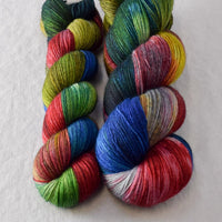 Funny Papers Partial Skeins - Miss Babs Katahdin yarn