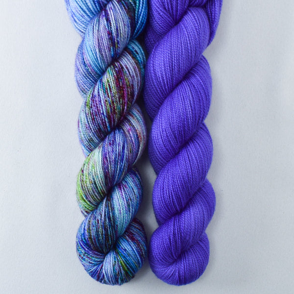 Gentian, Mix Tape 2.0 - Miss Babs 2-Ply Duo