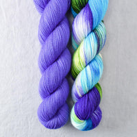 Gentian, South Beach - Miss Babs 2-Ply Duo
