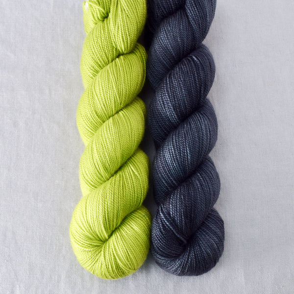 Ghoulish, Pewter - Miss Babs 2-Ply Duo