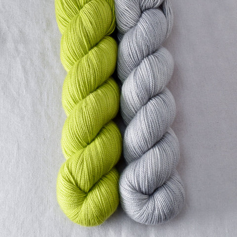 Ghoulish, Quicksilver - Miss Babs 2-Ply Duo