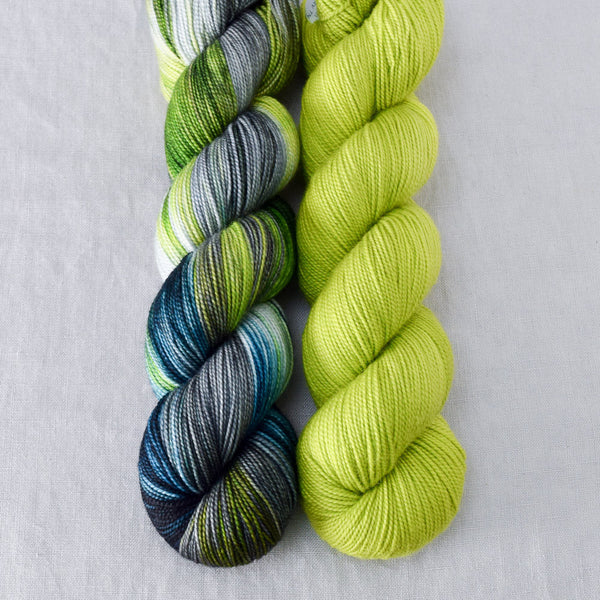 Ghoulish, Shaken not Stirred - Miss Babs 2-Ply Duo