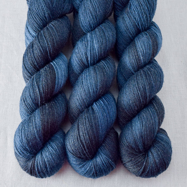Half Past Midnight - Miss Babs Tarte yarn
