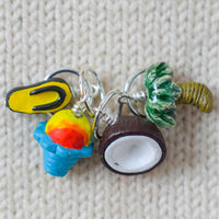 Hawaiian Vacation Stitch Markers