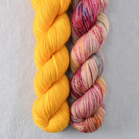 Helio, Spring Flowers - Miss Babs 2-Ply Duo