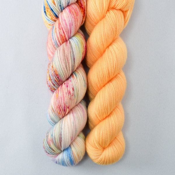 Hitchhiker's Birthday, Kumquat - Miss Babs 2-Ply Duo