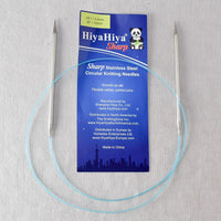 "HiyaHiya 40"" Sharp Steel Circular Needle"