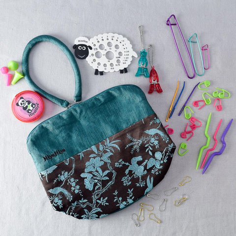 HiyaHiya Notion Set with Small Project Bag - Miss Babs Notions