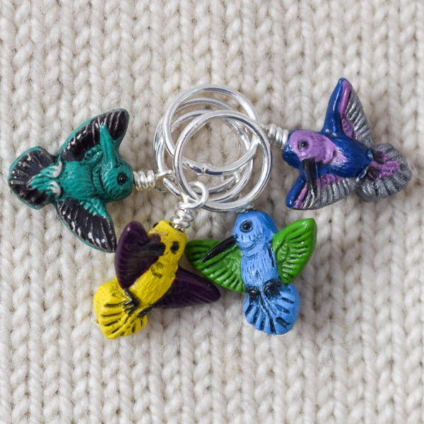 Hummingbirds - Miss Babs Stitch Markers