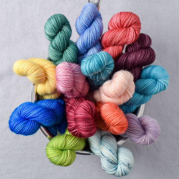 Advent Yarn Set - Midcentury - PRE-ORDER to ship by November 16