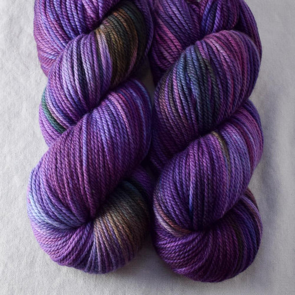 Irises - Miss Babs K2 yarn