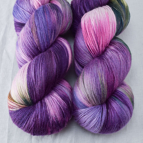 Irises - Miss Babs Katahdin yarn