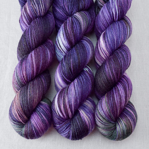 Irises - Miss Babs Tarte yarn