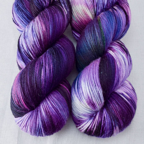 Irises - Miss Babs Yowza yarn