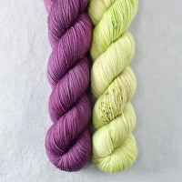 Japanese Maple, Wandflower - Miss Babs 2-Ply Duo