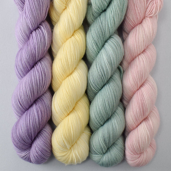 Jonquil, Palm Valley, Sugar, Theluj - Miss Babs Yummy 2-Ply Quartet