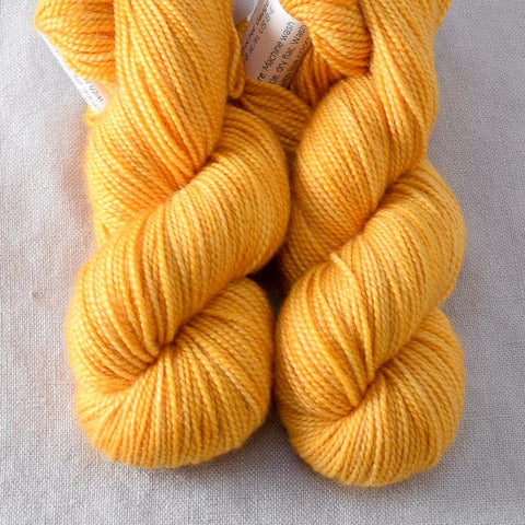 Lemon Amber - Miss Babs 2-Ply Toes yarn