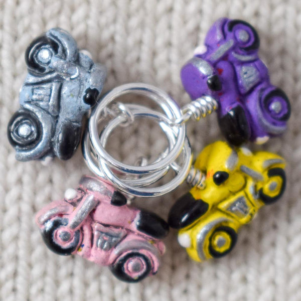 Light Motorcycles - Miss Babs Stitch Markers