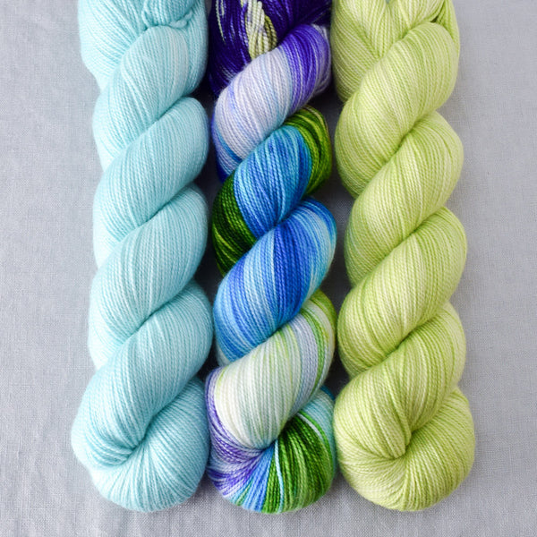 Light Turquoise, South Beach, Spring Lettuce - Miss Babs Yummy Trio