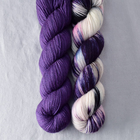 Lilacs, Surpriza - Miss Babs 2-Ply Duo
